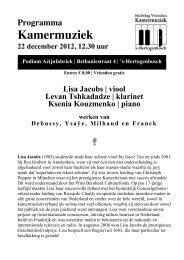 22 december 2012AL, lisa jacobs en ksenia ... - Kamermuziek