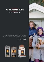 Oranier Clevere Alternativen - Kaminofen Hersteller