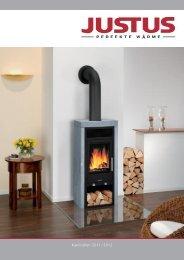Justus Katalog 2011 - Kaminofen Hersteller