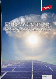 Pv-Simulator - Dehn + Söhne Blitzschutzsysteme