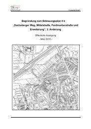 """Begründung zum Bebauungsplan 4 b """"Dachsberger ... - Kamp-Lintfort"""
