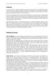 LOIDL Erläuterungsbericht - Kamp-Lintfort