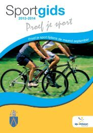 sport tijdens de maand september - Gemeente Kampenhout