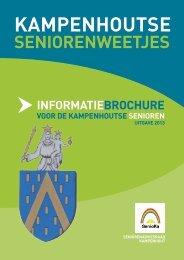 informatiebrochure voor de Kampenhoutse senioren (uitgave 2013)