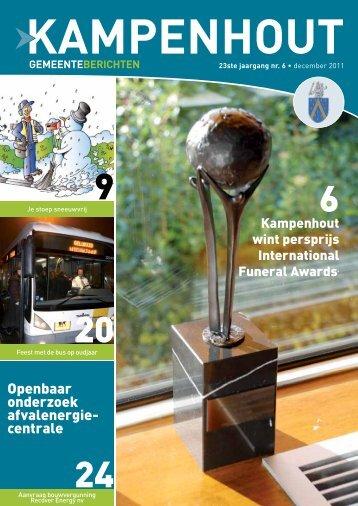 Openbaar onderzoek afvalenergie centrale - Gemeente Kampenhout