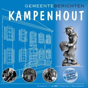 Gemeenteberichten JUNI 04 - Gemeente Kampenhout