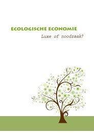 ECOLOgISCHE ECONOMIE - Gemeente Kampenhout