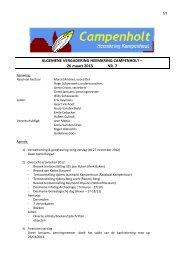verslag algemene vergadering 26 maart 2013