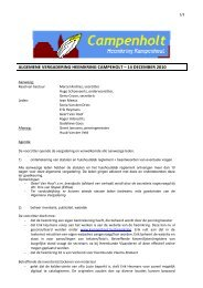 verslag algemene vergadering 14 december 2010 - Gemeente ...