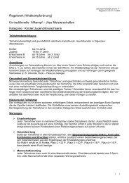 Regelwerk als PDF Dokument