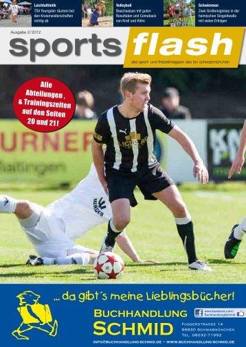 Ausgabe 2/ 2012 - TSV Schwabmünchen