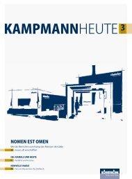 Das und vieles mehr: für Sie im neuen Heft. - Kampmann GmbH