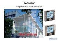 Integration von KaControl in ein Modbus-Netzwerk