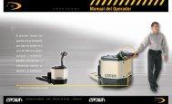 advertencia - Crown Equipment Corporation