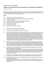 Allgemeine Nebenbestimmungen für ... - ESF-Regiestelle