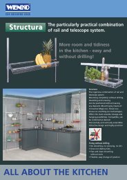 ALL ABOUT THE KITCHEN Structura - BOS