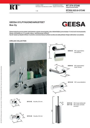 RT X74-37246 / RT/KH 623.8-37246 Geesa ... - BOS