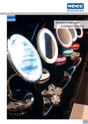 Kosmetikspiegel Cosmetic mirrors - BOS