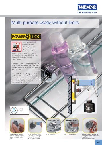 Multi-purpose usage without limits. - BOS