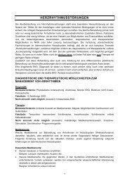 diagnostische und therapeutische möglichkeiten zum management ...