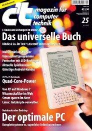 25/2009 magazin für computer technik magazin für computer technik