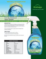 R.T.U. Non-Ammoniated Glass Cleaner - Kandel and Son