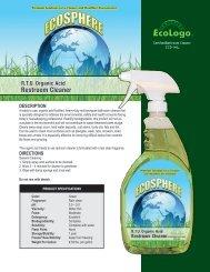 R.T.U. Organic Acid Restroom Cleaner - Kandel and Son