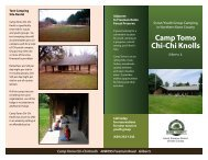 Brochure 1 - Forest Preserve District of Kane County