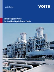 Variable Speed Drives for Combined Cycle Power Plants - Forum
