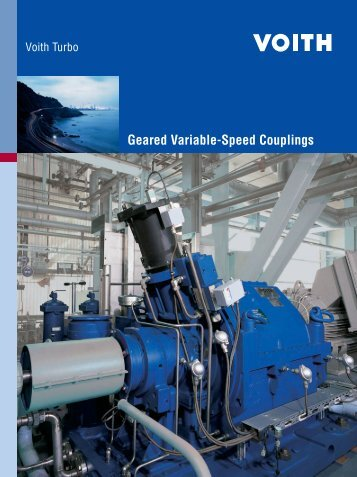 Geared Variable Speed Couplings