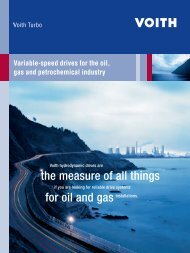 Variable-speed drives for the oil, gas and petrochemical industry