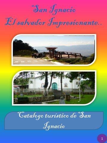 Catalogo turístico del municipio de San Ignacio