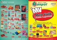 Linna soodsaim ostukorv! mai - Kanpol