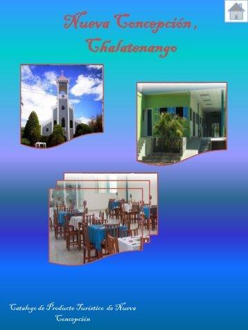 catalogo de producto turistico de nueva concepción chalatenango
