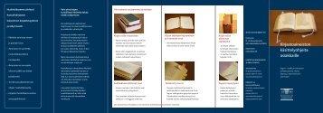 Ohjeita kirjastoaineiston lukusalikäyttöön - Kansalliskirjasto