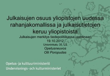 Olli Poropudas - Kansalliskirjasto