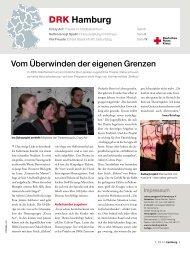 Rotkreuzmagazin 1 / 2010 - DRK Landesverband Hamburg ev