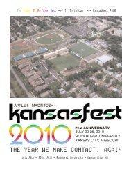 PDF - KansasFest