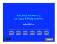 NadaNet Networking for Apple II Programmers - KansasFest