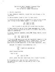 Optimizing 65xxx Assembly Language Code By Albert ... - KansasFest