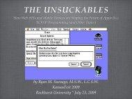 THE UNSUCKABLES - KansasFest