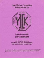 InTrec Software - KansasFest