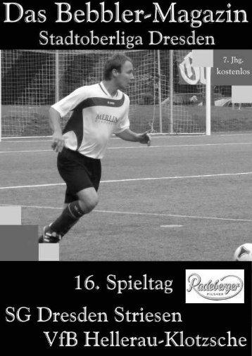 Das Bebbler-Magazin - 16. Spieltag
