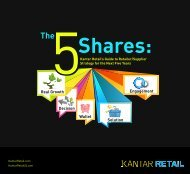 The 5 Shares - Kantar Retail