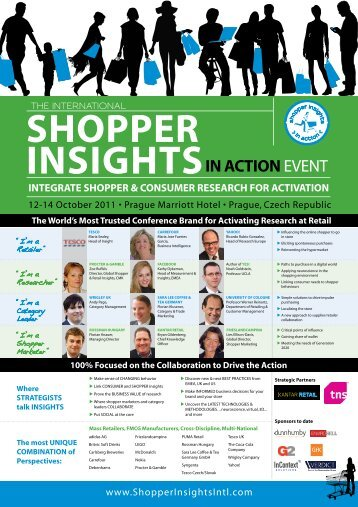 InSIghtSIn aCtIonevent - Kantar Retail