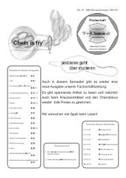 Rezension - Fachschaft Chemie - Universität Paderborn