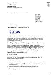 Infoblatt Neptun - Kantonsschule Wil