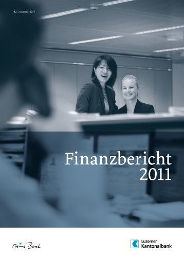 Finanzbericht 2011 - Kantonalbanken