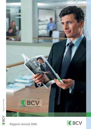 Rapport annuel 2006 - BCV