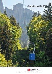 Geschäftsbericht NKB 2011 - Kanton Nidwalden